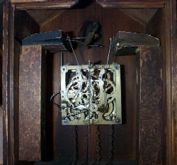 Black Forest Cuckoo Clock, Movement and Bellows.