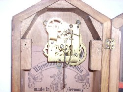 Movement of Haas Cottage Clock.