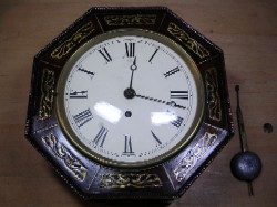 English fusee with Brass Inlay, Front view.