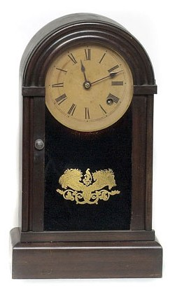 Unidentified DOME SHELF CLOCK, Full view.