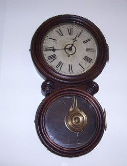 Ingraham Wall Clock - the Reflector, Full front view.